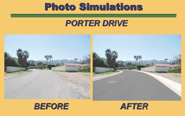 Porter Drive Before After